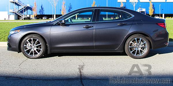 2015 Acura TLX Elite Exterior Side