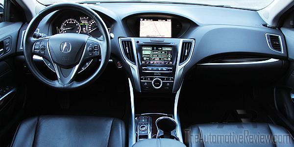 2015 Acura TLX Elite Interior Dash