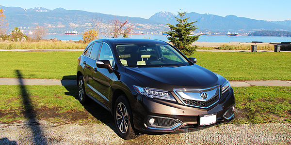 2016 Acura RDX Brown Exterior Front Side