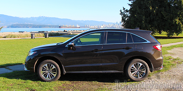 2016 Acura RDX Brown Exterior Side
