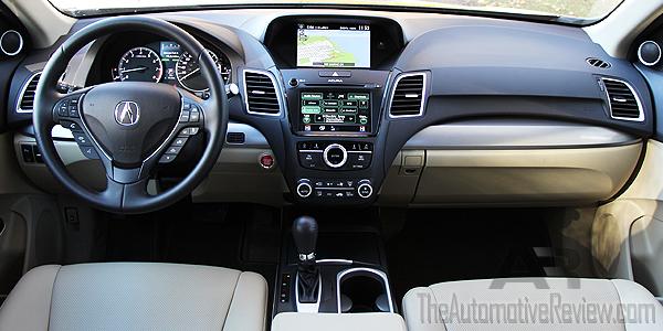 2016 Acura RDX Interior Front Dash