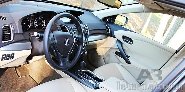 2016 Acura RDX Interior Front
