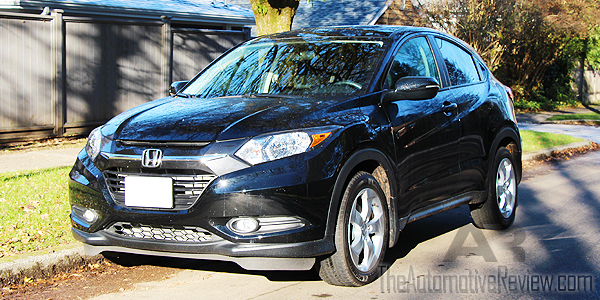 2016 Honda HR-V Black Exterior Front Side