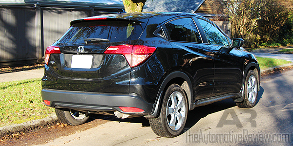 2016 Honda HR-V Black Exterior Rear Side