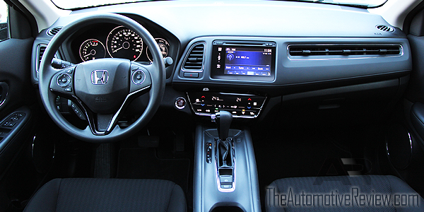 2016 Honda HR-V Black Interior Dash