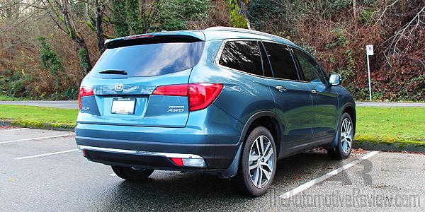 2016 Honda Pilot Exterior Blue Rear Side