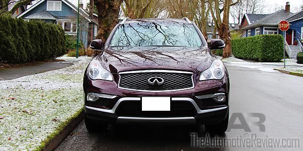 2016 Infiniti QX50 AWD Burgundy Exterior Front