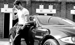 David_Gandy_with_Jaguar_XJ_Supersport_(2012)