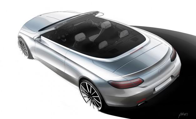 Mercedes-Benz C-class Cabriolet teaser