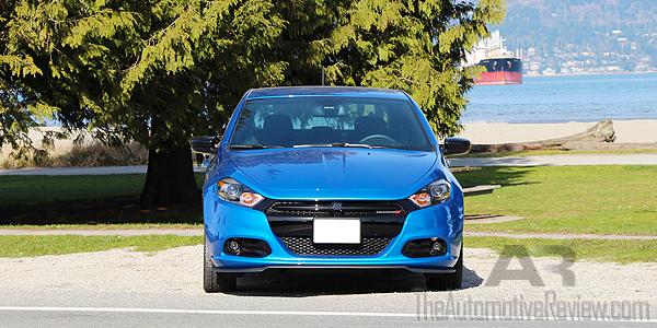2016 Dodge Dart SXT Exterior Front Blue