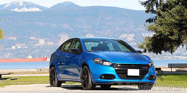 2016 Dodge Dart SXT Exterior Front Side Blue Featured