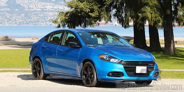 2016 Dodge Dart SXT Exterior Front Side Blue
