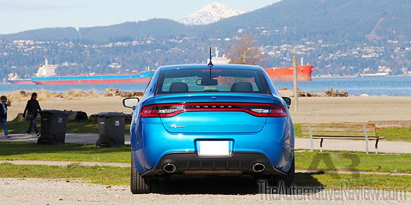 2016 Dodge Dart SXT Exterior Rear Blue