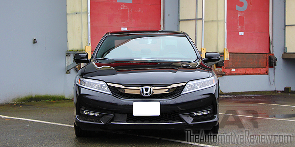 2016 Honda Accord Exterior Front Black