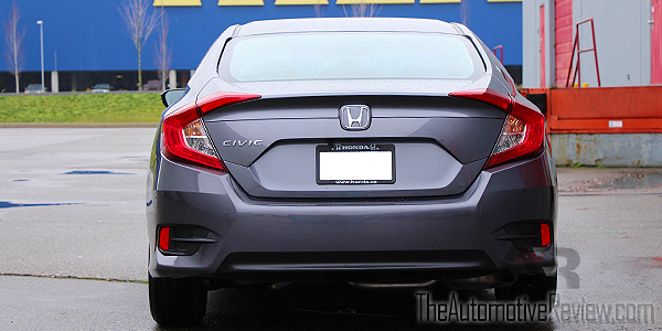 2016 Honda Civic Exterior Rear Gray