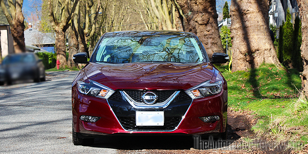 2016 Nissan Maxima Red Exterior Front