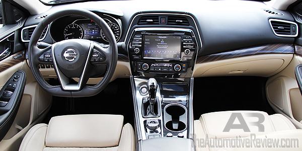 2016 Nissan Maxima Red Interior Dash
