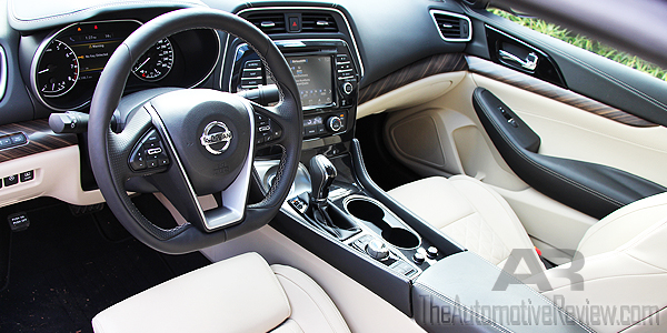 2016 Nissan Maxima Red Interior Front