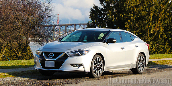 2016 Nissan Maxima Silver Exterior Front Side