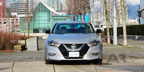 2016 Nissan Maxima Silver Exterior Front