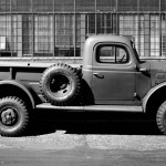 Component supplier Marmon-Herrington began converting Ford pickup trucks to four-wheel drive back in 1935, but the first production four-wheel-drive pickup was the 1946 Dodge Power Wagon. A product of the war effort, the Power Wagon was essentially a one-ton four-wheel-drive military truck with civilian sheetmetal. Domestic production continued until 1968, with only minor changes. The Willys-Overland Jeep Truck arrived just after the Dodge, in 1947, another adaptation of wartime technology. Like the Power Wagon, it made for rugged if rudimentary civilian transportation at best—and stayed that way until production ended in 1965. By the late 1950s, all domestic manufacturers were offering four-wheel drive in conventional pickups.