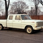The now-defunct International Harvester introduced the first crew-cab pickup, the Travelette, in 1957. A three-door design with a full back seat and room for six, the Travelette didn't sprout a fourth door until 1961. Dodge joined the party in 1961, although its earliest examples were converted by an outside contractor. Production moved in-house in 1964, and Ford brought out its own four-door pickup a year later. The first crew cabs were bought almost exclusively by utility companies and contractors, and they were designed solely to get workers and their gear to and from the job site. But as the metamorphosis of trucks into family haulers got going in the late 1960s and '70s, crew cabs moved upmarket with nicer interiors and the amenities of passenger cars. The movement was well underway by the time General Motors started building Chevrolet and GMC crew cabs in 1973. Today, crew cabs are available with interiors rivaling those of a luxury car, and they're the configuration of choice for families.
