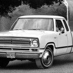 Extended cabs are another family-friendly option. The first was the Dodge Club Cab of 1973, which was a two-door with its cab stretched by 18 inches and a small back seat. Ford followed suit with the SuperCab in 1974. The configuration is still offered by domestic manufacturers, although now with small rear doors.