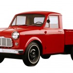As Japanese cars began to arrive in the U.S., pickups were not far behind. Datsun (now Nissan) was the first to land a truck in stateside showrooms, with the Datsun 1000 arriving for the 1958 model year. With a quarter-ton payload capacity and just 37 horsepower from a 1.0-liter four-cylinder engine, the 1000 wasn't exactly a stump-puller and rang up just 10 sales in its inaugural year. Undeterred, Datsun fitted a larger 1200-cc engine, and sales began a slow but steady climb. Toyota began importing the competing Stout pickup in 1964, but it wasn't until the arrival of the Datsun 520 in 1965 that things really heated up, with 15,000 sales in its first year.