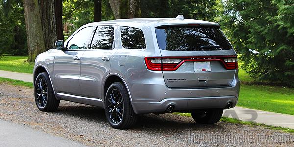 2016 Dodge Durango Silver Exterior Rear Side