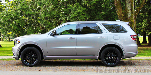 2016 Dodge Durango Silver Exterior Side