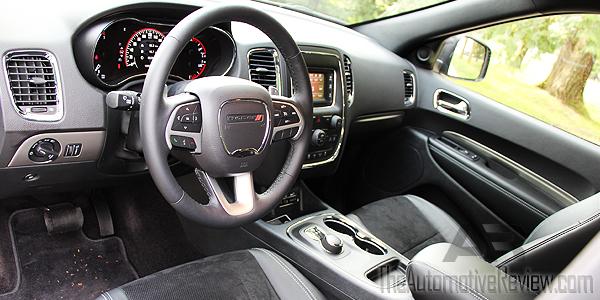 2016 Dodge Durango Silver Interior Front