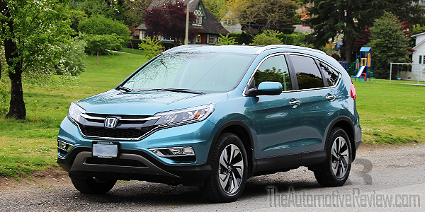 2016 Honda CR-V Blue Exterior Front Side