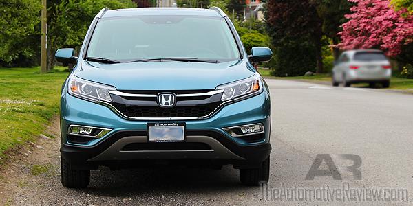 2016 Honda CR-V Blue Exterior Front