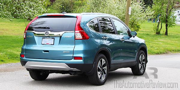 2016 Honda CR-V Blue Exterior Rear Side