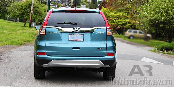 2016 Honda CR-V Blue Exterior Rear