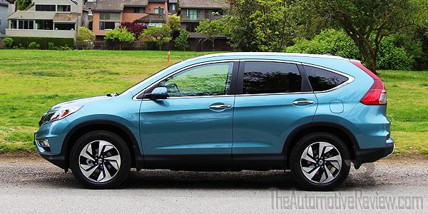 2016 Honda Cr V Blue Exterior Side