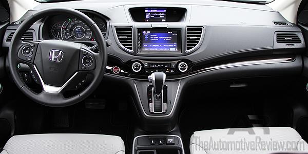 2016 Honda Cr V Blue Interior Dash