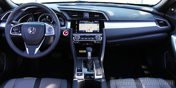 2016 honda civic coupe review the automotive review - 2016 honda civic si coupe interior ...