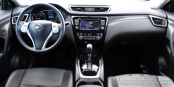 2016 Nissan Rogue White Interior Dash