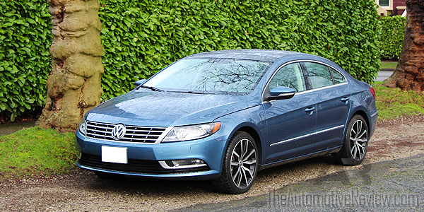 2016 Volkswagen CC Blue Exterior Front Side