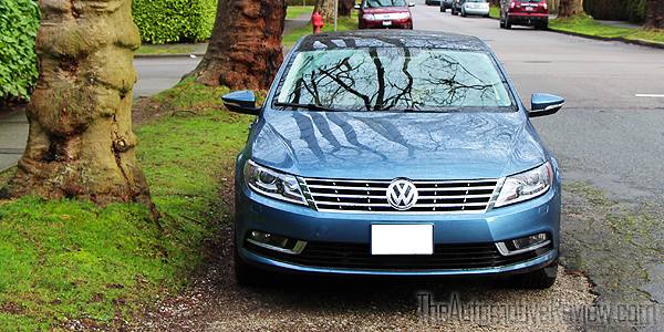 2016 Volkswagen CC Blue Exterior Front