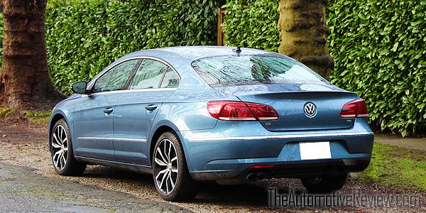 2016 Volkswagen CC Blue Exterior Rear Side