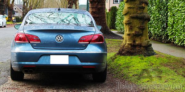 2016 Volkswagen CC Blue Exterior Rear