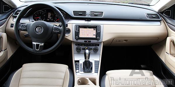 2016 Volkswagen CC Blue Interior Dash