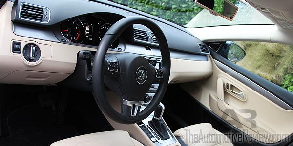 2016 Volkswagen CC Blue Interior Front