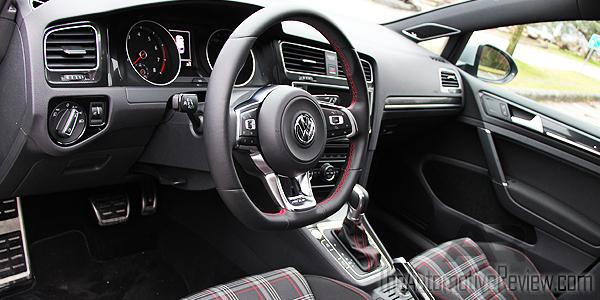 2016 Volkswagen Golf GTI Interior Front