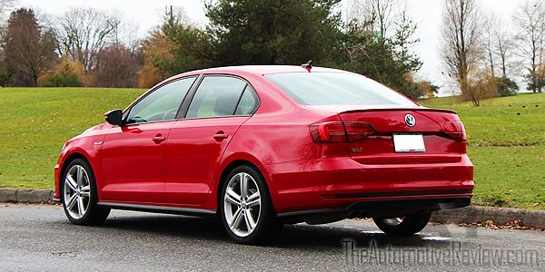 2016 Volkswagen Jetta Red Exterior Rear Side