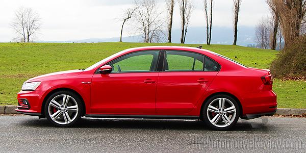 2016 Volkswagen Jetta Red Exterior Side