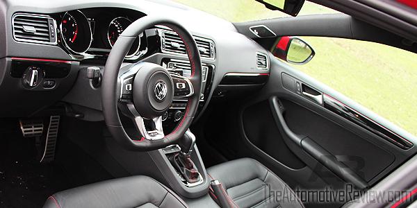 2016 Volkswagen Jetta Red Interior Front