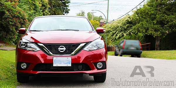 2016 Nissan Sentra Cayenne Red Exterior Front